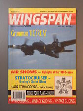 R&L Mag: Wingspan May 1990 Grumman Tigercat/Avro Commodore/Seabee/Early Engines