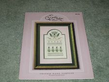 NEW THISTLE BAND SAMPLER  CROSS STITCH LEAFLET IN A GENTLE FASHION