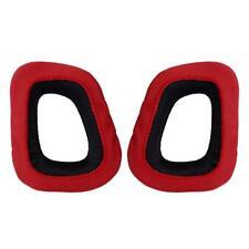For Logitech Earpads for G230 G430 G930 G35 F450 Gaming Headset Cool Black & Red