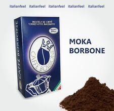 2KG (8X250GR) CAFFE' BORBONE MACINATO MISCELA BLU MOKA CREMOSO ITALIANFEEL