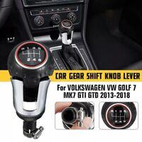 Pomello Leva Del Cambio per Volkswagen VW Golf 7 Mk7 Gti GTD 2013-2018 6 Speed