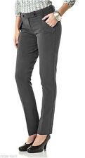 Gerades-Bein Damen-Hosen mit Viskose