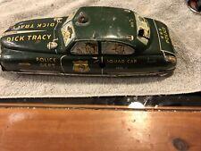 Marx Dick Tracy Plastic Detective Car Stickers   MX-015