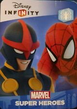 Disney Infinity 2.0 Marvel Super Heroes Spider-Man Playset Web Code Card