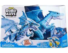 Zuru Robo Alive Blue Dragon Genuine Product Great Fun Gift For Kids Robotic Pet