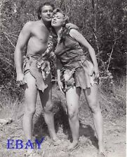 Allan Nixon barechested, Jo Ann Shawlee busty leggy VINTAGE Ph Prehistoric Woman