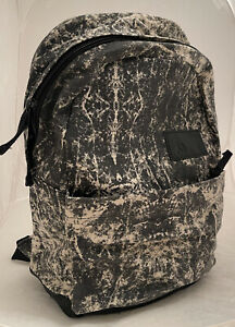 Volcom Tan Black Going Back Canvas Backpack Casual Skateboard Bag New with Tags