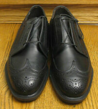 New! AE by ALLEN EDMONDS 3114 black leather WINGTIPS / DRESS OXFORDS sz 8.5 EEE