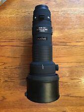 SIGMA APO 500mm F4.5 EX HSM CANON