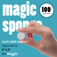 Travel Magic Tissue - Portable Compressed Towel Eco-friendly Biodegradable