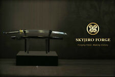 SKYJIRO FORGE DOMOE JAPANESE NIHONTO SHINKEN SAMURAI KATANA IAIDO SWORD
