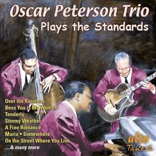 CD OSCAR PETERSON TRIO PLAYS STANDARDS OVER THE RAINBOW TENDERLY STORMY WEATHER