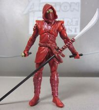 """HAND NINJA Man Marvel Universe #024 Complete 3.75"""" Action Figure Toy Red Outfit"""