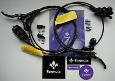 Formula - Impianto Formula CURA 2018 Nero lucido/Glossy-Wet Black + dischi/disks