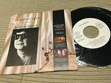 "ROY ORBISON SPANISH 7"" SINGLE SPAIN WHITE LABEL WILD HEARTS - INSIGNIFICANCE OST"