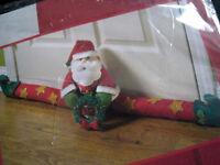 Christmas BUCILLA Applique Felt Holiday Craft Kit,SANTA DOOR DRAFT,Home,856114