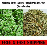 200g Organic Natural  Polpala Herbal Tea (Aerva lanata)100% Fully Clean