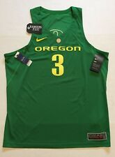 Nike Oregon Ducks Basketball Jersey Stitched  3 Authentic Apple Green Sz XL 008700d18