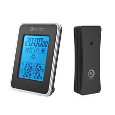 Digoo Reloj Estacion Meteorologica Temperatura Humedad Termometro Higrometro
