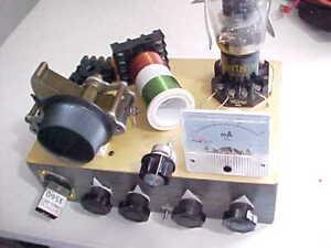 QRP HAM RADIO TRANSMITTER/REGEN RADIO RECEIVER PROJECT (SOLD AS IS)