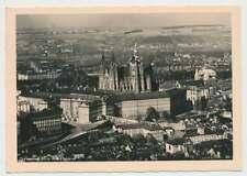 AK Prag, Luftbildaufnahme, gelaufen 1943 (50486)