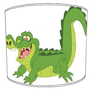 Niños Crocodile Lampshades, Ideal Para Combinar `S Cocodrilo Edredones Fundas