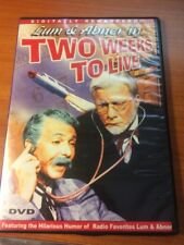 Two Weeks To Live (DVD) Lum and Abner