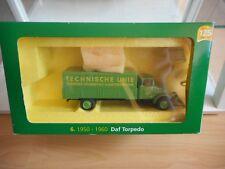 """Lion Toys Daf Torpedo """"Technische Unie"""" in Green on 1:50 in Box"""