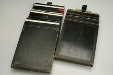#4 LOT x5 5x7 in. Cut Sheet Film Holders for Large Format Camera ALKON USA Wood