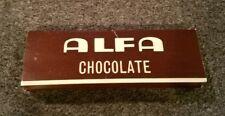 Vintage 1960s ALFA Chocolate Cigarette Rolling Paper RARE!