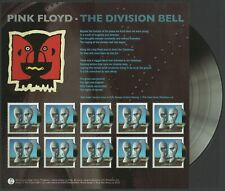 Great Britain 2010 Pink Floyd The Division Bell Sheet Mint Unhinged