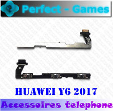 Huawei Y6 2017 Nappe cable bouton ON OFF volume power button flex cable