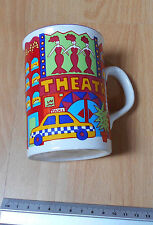 TAZZA in ceramica New York NUOVO DISTRETTO teatrale & TAXI Made in England