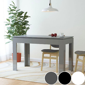 High Gloss Dining Table Glossy Kitchen Furniture Unit 4 Seater Dinner Table