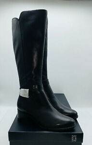 Naturalizer Women's Koka Knee High Boots - Black Leather