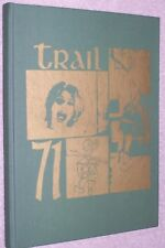 1971 Old Fort High School Yearbook Annual Old Fort Ohio OH - The Trail