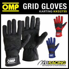 Suede OMP Car and Kart Race Gloves
