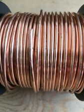 2mm diameter COPPER SOFT WIRE BARE ROUND SOLID 1m 2m 3m 5m 10m full reel