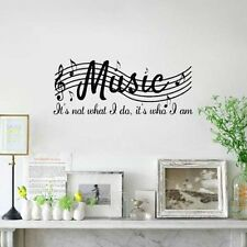 Wall Room Music Musical Notes Removable Decal Sticker Vinyl Mural Home Decor