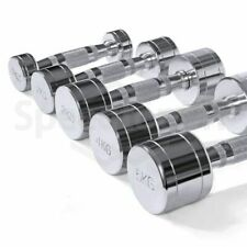 Plating Fixed Solid Dumbbell Barbell Indoor Sports Tool 1 2 3 4 5 6 7 KG 1PCS