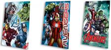Marvel Avengers Fleecedecke, unterschiedliche Motive, 100x150cm, Kuscheldecke