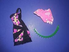 Monster High Doll Clothes Music Festival Venus Outfit Dress Top Belt