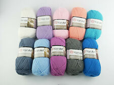 YarnArt Silky Royal 65% Merino Wolle 35% Silk Rayon 140m/50g YarnArt Strickwolle