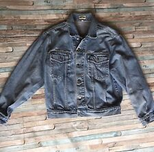 Vintage Guess Made In USA light Denim Jean Jacket Men's Small