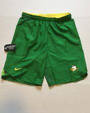 Mens M Medium Nike Dri-fit Oregon Ducks Vapor Apple Green Shorts Puddles