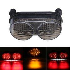 Rear LED Tail Light Turn Signals For Kawasaki ZR7S ZX6R ZX9R ZX900 ZZR600