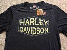 Harley Davidson moisture wicking black Shirt Nwt Men's XL