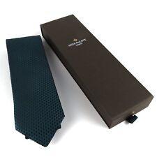 Patek Philippe Luxury British Green And Black Silk Tie Limited Edition 2014