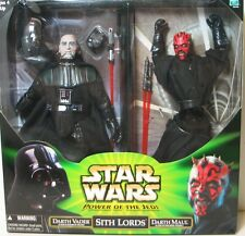 Star Wars Sith Lords-Dark Vador et Darth Maul 12""