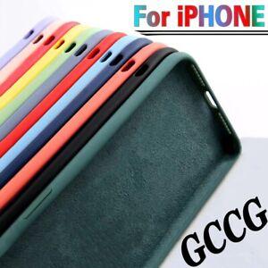 Coques de Protection en Silicone pour  iPhone 11pro 12 pro max XR XS MAX SE 7/8+